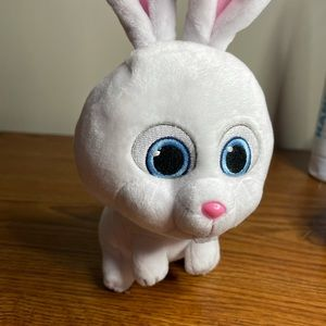 """Seceret life of pets """"snowball TY Bennie babies plush"""""""